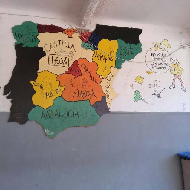 A map of the regions of Spain!